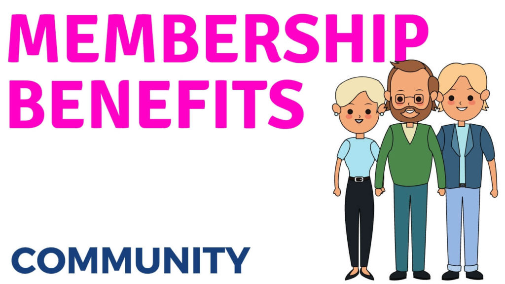 wa membership benefits Community