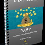 5 Dollars Easy Book