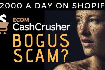 Ecom Cash Crusher Shopify Or Scam Review