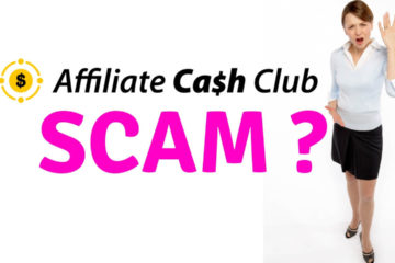 Affiliate Cash Club scam review or legit