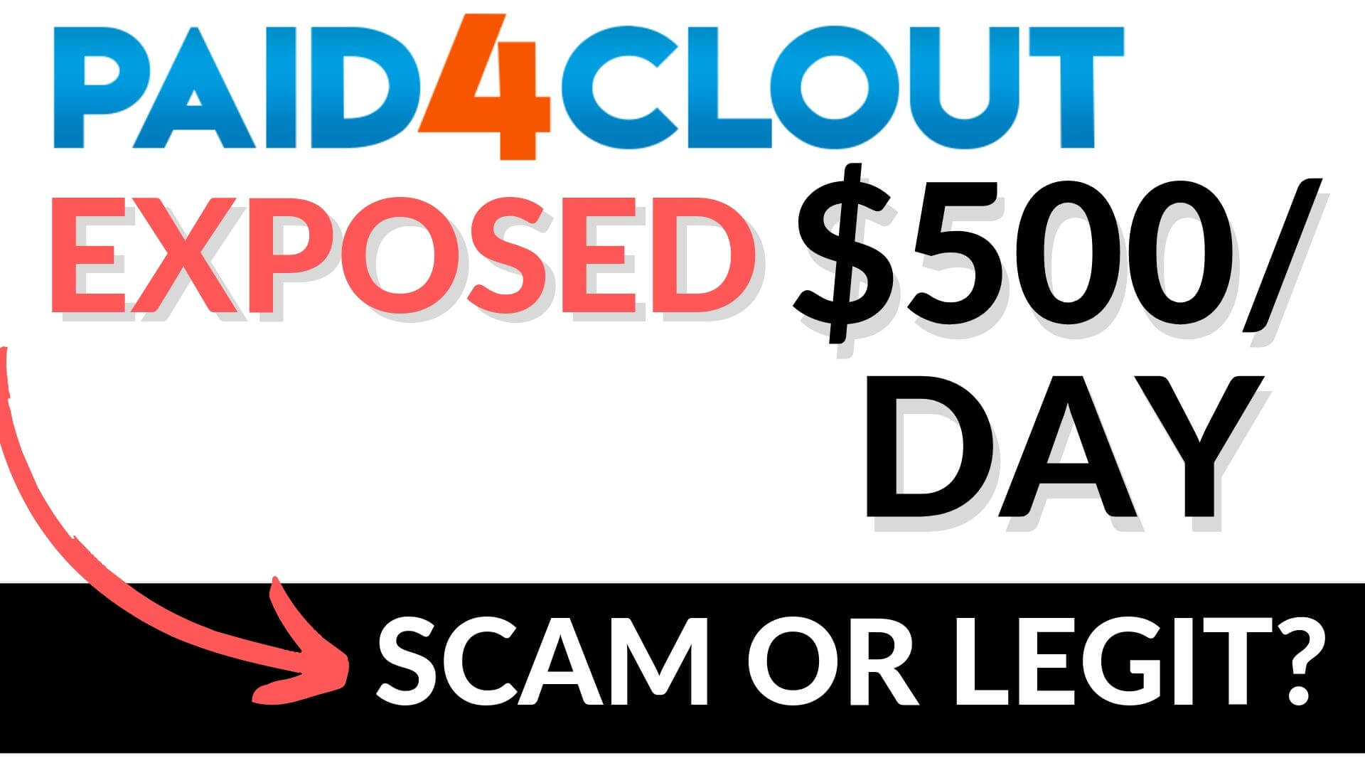 Paid4Clout Review Scam or Legit?