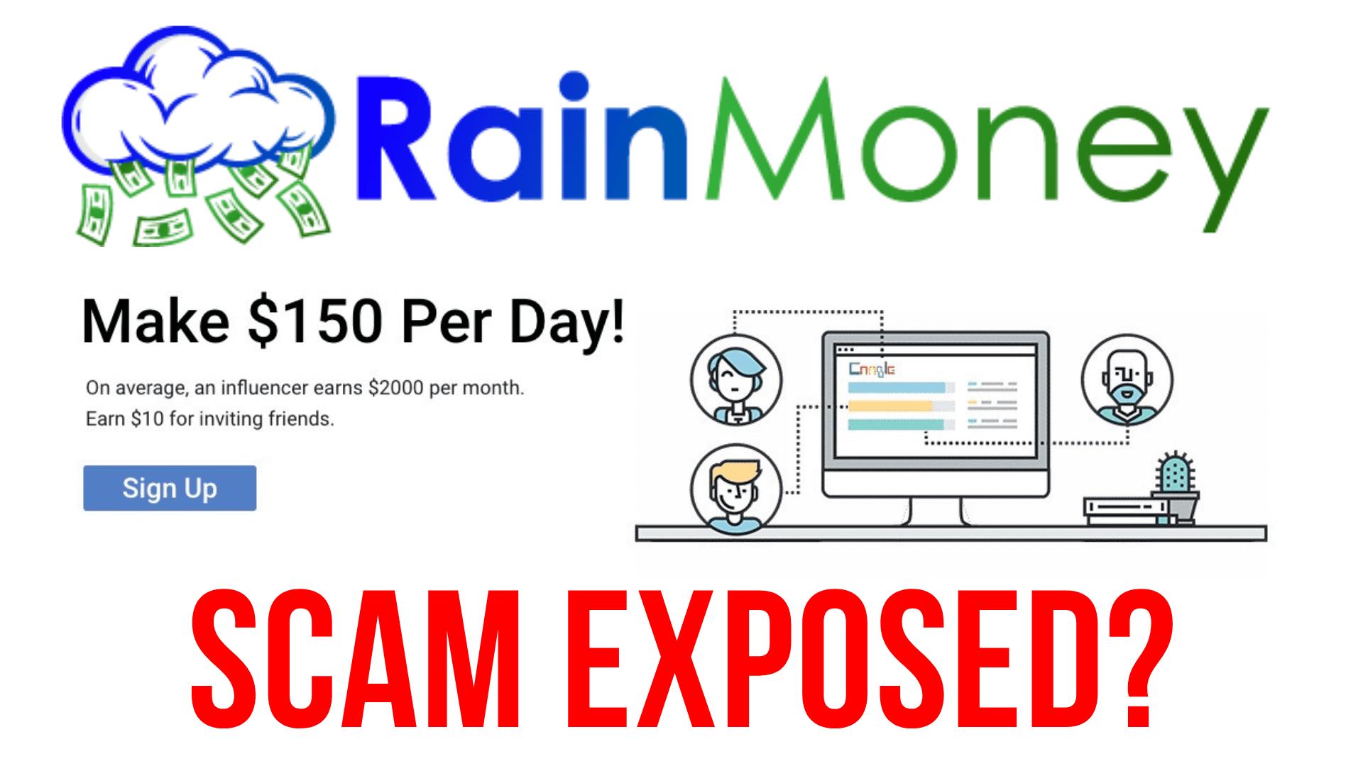 RainMoney Reviews Scam Or Legit?